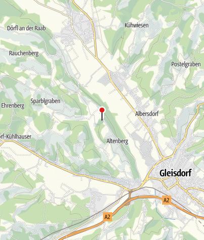 Karte / Region Gleisdorf   Schloss Freiberg