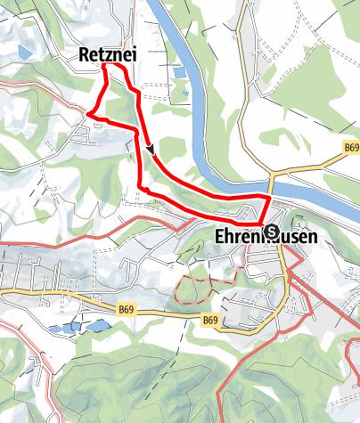 Karte / Wandern in Ehrenhausen - Weg 2