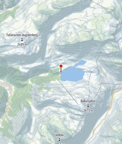 Karte / Staumauer Kopssee