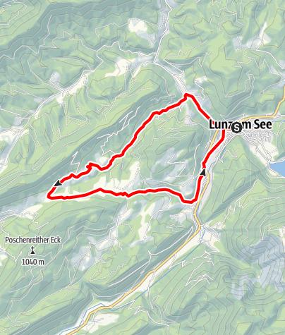 Mapa / Ahorn- und Sulzbachtal-Runde
