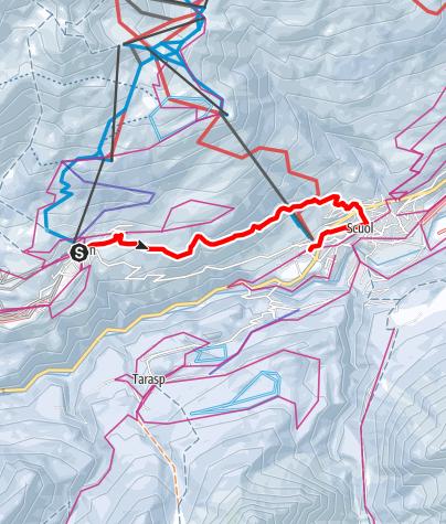 Map / Ftan - Scuol