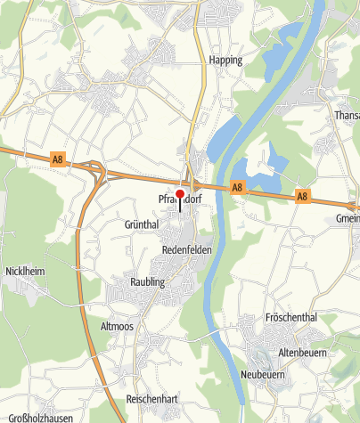 Karte / Gasthof Alter Wirt Pfraundorf