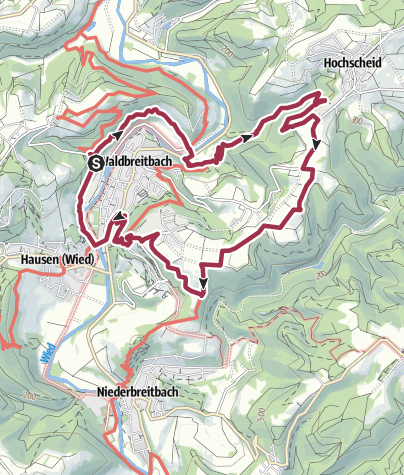 Karte / Wäller Tour Bärenkopp