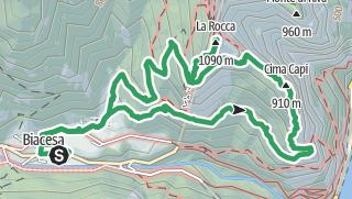 Karte / Klettersteig am 25. April 2019