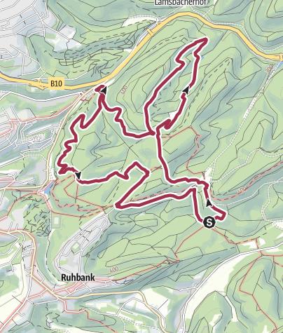 Karte / Pirmasenser Brünnchentour