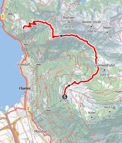 Karte / Wildheupfad