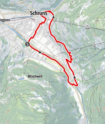 Map / Buchenwald-Schleife