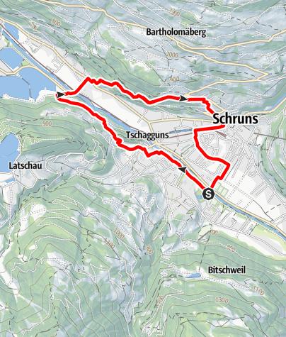 Karte / Gauenstein-Walk
