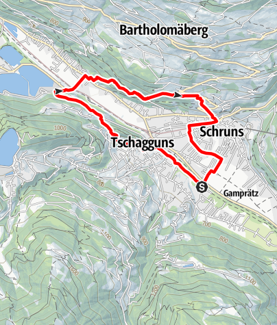 Kaart / Gauenstein-Walk