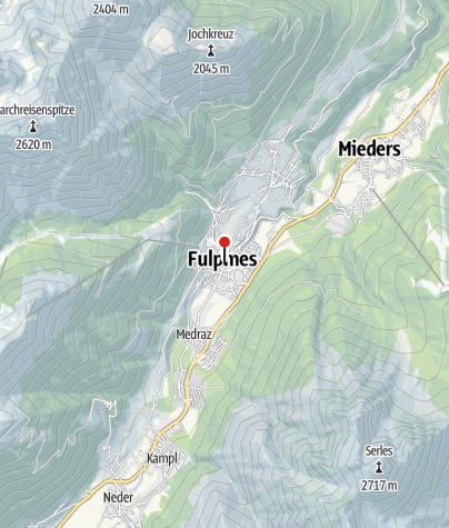 Karte /  Ärztehaus Dr. Gritsch, Dr. Bitschnau-Bracco, Dr. Smekal-Schindelwig