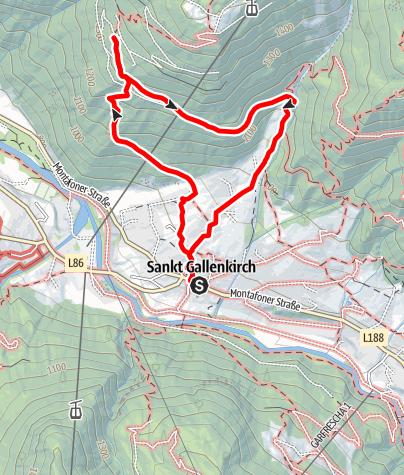 Karte / Maisäss Tanafreida