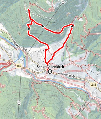 Map / Maisäss Tanafreida