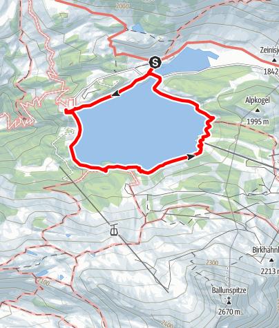 Karte / Kops Seerundgang