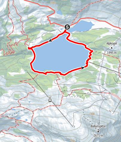 Map / Kops Seerundgang