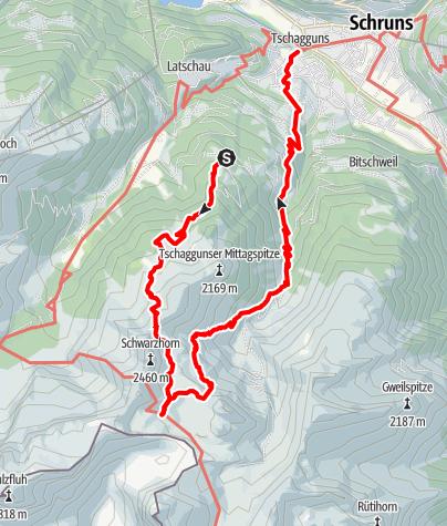 Map / Tilisunahütte
