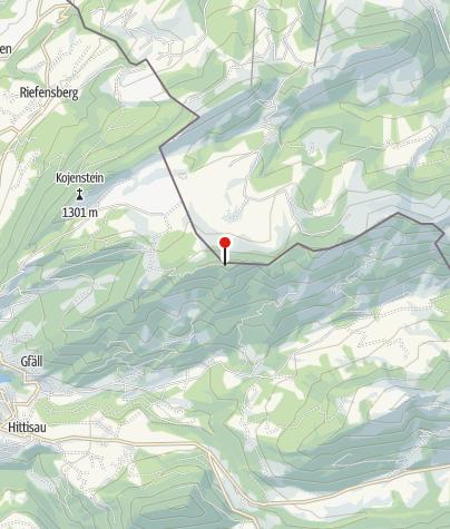 Map / Berggasthaus Hochhäderich