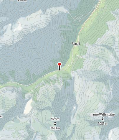 Karte / Tschangelair Alm