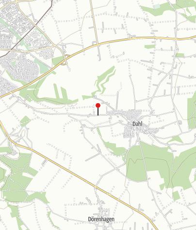 Karte / Madonnenstandbild bei Paderborn-Dahl