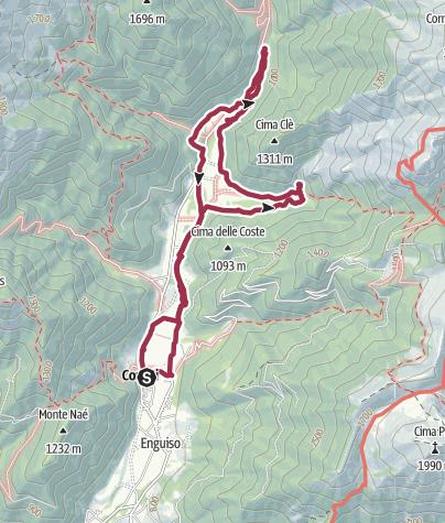 Mappa / Im Valle di Concei