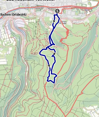 Karte / Medizinischer Kurwanderweg MK III - blau