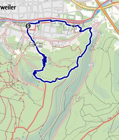 Karte / Medizinischer Kurwanderweg MK I - rot