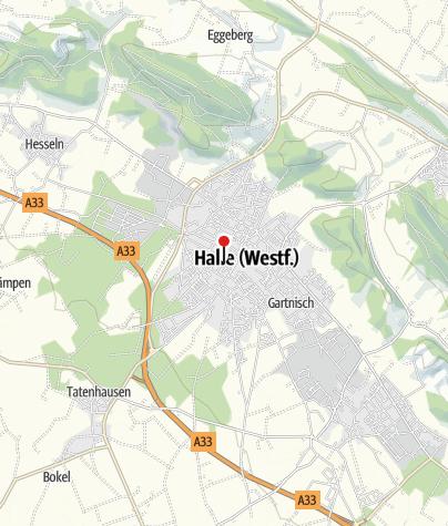 Karte / Ferienwohnung Hofen