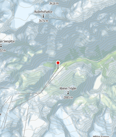 Mapa / Talstation Stubaier Gletscherbahn