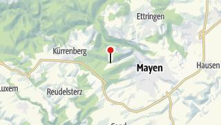 Map / Eiterbachweiherhütte