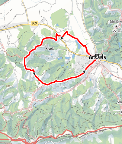 Karte / Arnfelser Wege - Remschnigg (R1)