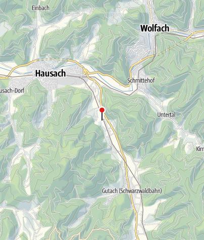 Karte / Vogtsbauernhof