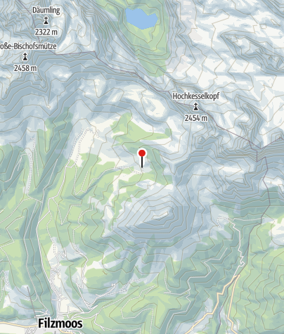 Karte / Wallehenhütte