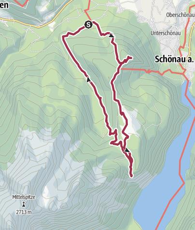 Karte / Grünstein und Kühroint