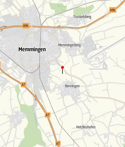 Karte / Benninger Ried