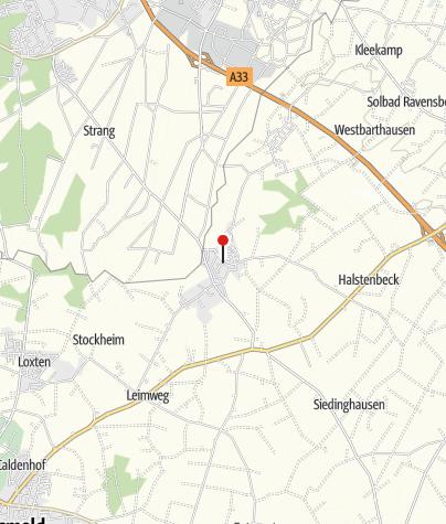 Karte / Historischer Dorfkern Bockhorst