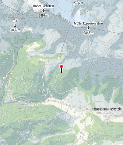 Karte / Austriahütte