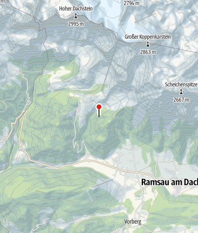 Karte / Brandalm