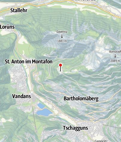 Kaart / Kapelle Rellseck