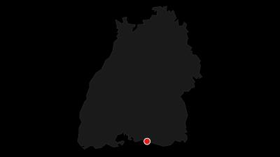 Karte / Schleifenroute DE Konstanz - Singen Etappe 26