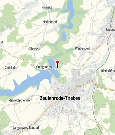 Karte / Bio-Seehotel Zeulenroda