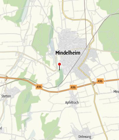 Karte / Mindelburg