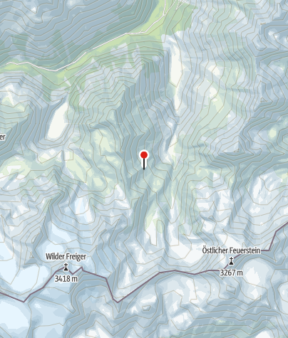 Karte / Klettergärten Nürnbergerhütte