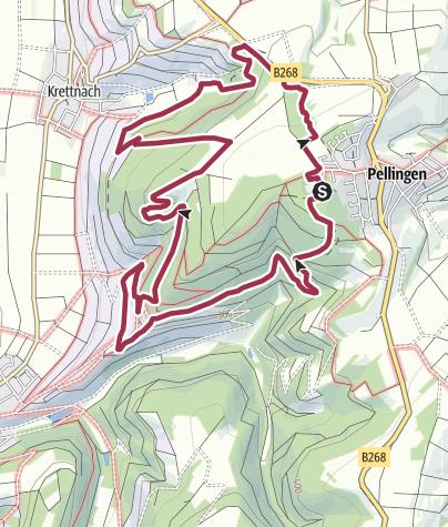 Karte / Moselsteig Seitensprung Karlskopf-Panoramaweg