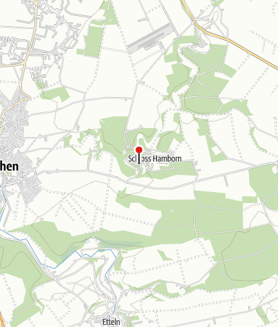 Karte / Schloss Hamborn