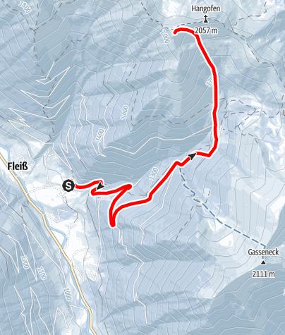 Karte / Plöschmitzzinken 2.095 m
