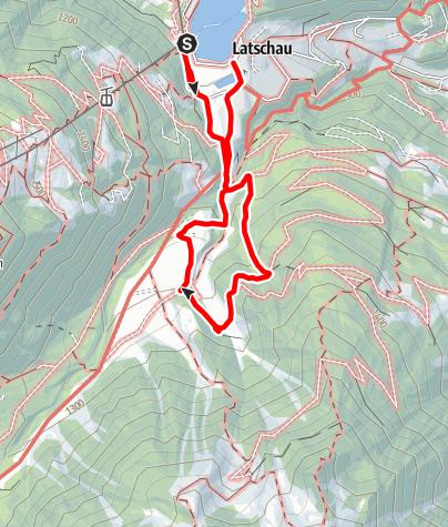 Map / Alte Säge Latschau mit Kräuterwanderung