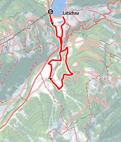 Kaart / Alte Säge Latschau mit Kräuterwanderung