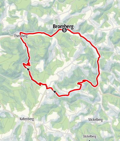 Karte / Hexenroute - E-Bike