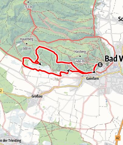 Karte / Esoterischer Spaziergang E2
