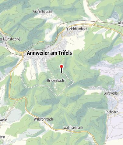 Karte / Waldgaststätte Barbarossa