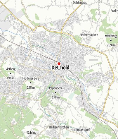 Kaart / Vorstelijk Residenzschloss Detmold